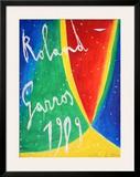 Roland Garros 1989 - De Maria Pôsters por Nicola De Maria