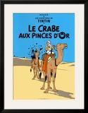 Le Crabe aux Pinces D'Or, c.1941 Prints by  Hergé (Georges Rémi)