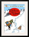 Tintin au Tibet, c.1960 Art by  Hergé (Georges Rémi)