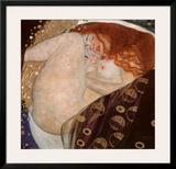 Danae Prints by Gustav Klimt