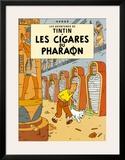 Les Cigares du Pharaon, c.1934 Poster by  Hergé (Georges Rémi)