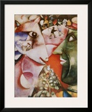 I and the Village, c.1911 Print by Marc Chagall