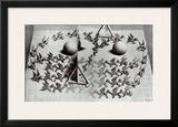 Magic Mirror Posters por M. C. Escher