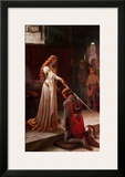 The Accolade, 1901 Posters by Edmund Blair Leighton