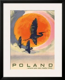 Poland: Where You Can Really Relax, c.1965 Framed Giclee Print by T. Jodkowski