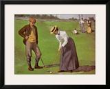 Twosome Poster by Arthur Burdett Frost