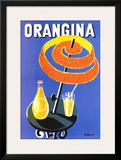 Orangina Prints by Bernard Villemot
