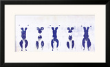 Untitled, Anthropometry, c.1960 (ANT100) Print by Yves Klein
