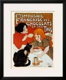 Compagnie des Chocolats et des Thes Pôsters por Théophile Alexandre Steinlen
