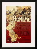 La Boheme, Musica di Puccini Posters by Adolfo Hohenstein