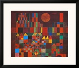 Castle and Sun Prints by Paul Klee
