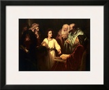 Christ in the Temple Prints by Heinrich Hofmann