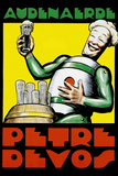 Audenaerde Petre Devos Robot Advertisement Plastic Sign Plastikskilt