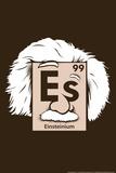 Einsteinium Element Snorg Tees Plastic Sign Placa de plástico por  Snorg