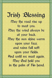 Irish Blessing Plastic Sign Plastikskilt