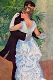 Pierre-Auguste Renoir (Dance in the City) Plastic Sign Plastic Sign by Pierre-Auguste Renoir