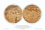 Schiaparelli's Karte von Mars, 1877-1888 Fotografie-Druck von Detlev Van Ravenswaay