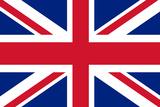 United Kingdom National Union Jack Flag Plastic Sign Plastikskilt