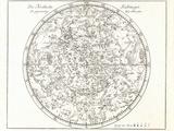 Star Map, 1805 Premium-Fotodruck von Detlev Van Ravenswaay