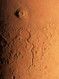 Gusev Crater And River, Mars Fotografie-Druck von Detlev Van Ravenswaay