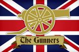 Arsenal Football Club The Gunners Sports Plastic Sign Plastskilt