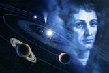 Solar System And Nicolaus Copernicus Fotografie-Druck von Detlev Van Ravenswaay