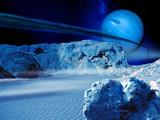 Neptune From Triton Fotografie-Druck von Detlev Van Ravenswaay