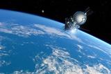 Vostok 1 Orbiting the Earth, 1961 Reproduction photographique par Detlev Van Ravenswaay