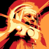 Yuri Gagarin, Soviet Cosmonaut, Artwork Fotografie-Druck von Detlev Van Ravenswaay