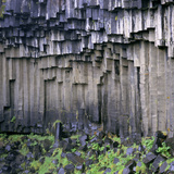 Columnar Basalt Rock Reproduction photographique par Dirk Wiersma