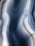 Concentric Banding In Agate Photographic Print by Dirk Wiersma