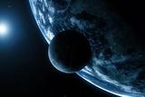 Earth And Moon, Artwork Reproduction photographique par  SCIEPRO