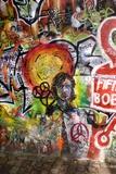 Lennon Wall, Prague Fotografie-Druck von Mark Williamson