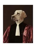 El abogado Lámina giclée prémium por Thierry Poncelet