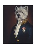 The Officer's Mess Premium Giclée-tryk af Thierry Poncelet