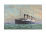 Titanic Premium Giclee Print by Edward Walker