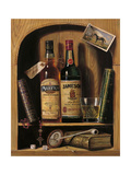 Jameson Irish Whiskey Giclée-Premiumdruck von Raymond Campbell