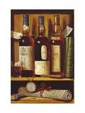 Malt Whiskey Premium Giclee-trykk av Raymond Campbell