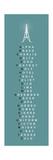 Fonetiskt alfabet II Exklusivt gicléetryck av  The Vintage Collection