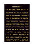 Desiderata Premium Giclée-tryk af  The Vintage Collection