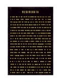 Desiderata (cosas deseadas) Lámina giclée prémium por  The Vintage Collection
