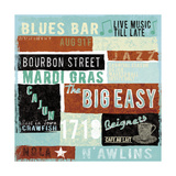 New Orleans Premium Giclee Print by Tom Frazier
