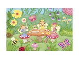 Fairy Fun Premium Giclee Print by Sophie Harding
