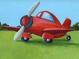 Lil Airplane Prints by Cindy Thornton