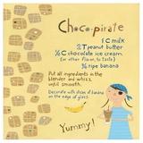 Pirates Love Chocolate Posters tekijänä Céline Malépart