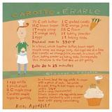 Carrot-Maple Cupcake Poster tekijänä Céline Malépart