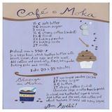 Moka-Coffee Cupcake Julisteet tekijänä Céline Malépart