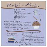 Moka-Coffee Cupcake Poster di Céline Malépart