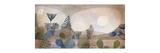 Oceanic Landscape Reproduction giclée Premium par Paul Klee