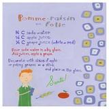Apple-Grape Juice Poster tekijänä Céline Malépart